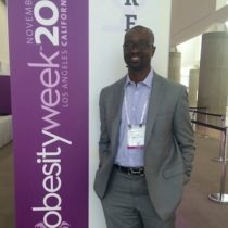 Dr. Seun Sowemimo at the 2015 ASMBS Obesity Week Conference.